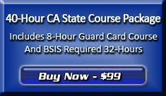 Purchase the 40-Hour BSIS Course Package