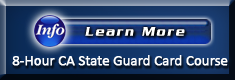 View Information on the 8-Hour BSIS Guard Card Course